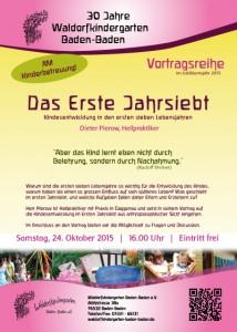 Vortrag im Waldorfkindergarten Baden-Baden