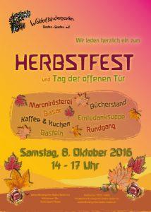 Herbstfest & Tag der offenen Tür 2016