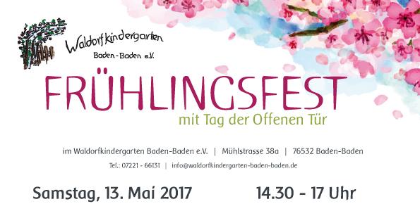 Alles Waldorf: Frühlingsfest mit Tag der Offenen Tür