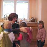 """Christa mit """"ihren"""" Kindern"""