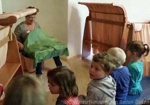 Fingerspiel im Waldorfkindergarten Baden-Baden